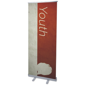 "Color Block Youth 2'7"" x 6'7""  Vinyl Banner"