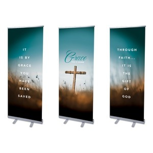 Grace Has A Name Banners