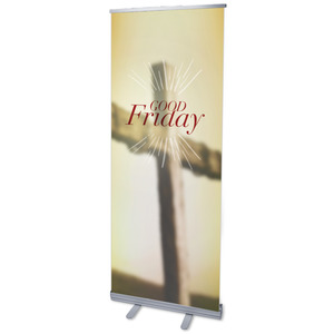 "Traditions Good Friday 2'7"" x 6'7""  Vinyl Banner"