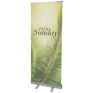 "Traditions Palm Sunday 2'7"" x 6'7""  Vinyl Banner"