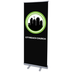 CityReach Black Banner