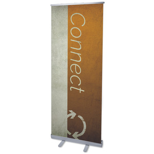 "Color Block Connect 2'7"" x 6'7""  Vinyl Banner"