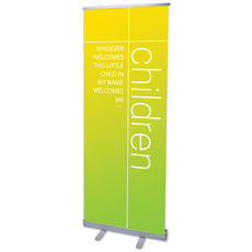 Color Wash Children Banner