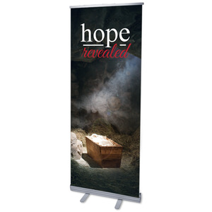 "Hope Revealed Manger 2'7"" x 6'7""  Vinyl Banner"