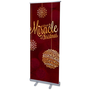 Celebrate the Miracle Banners