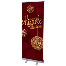 Celebrate the Miracle Banner