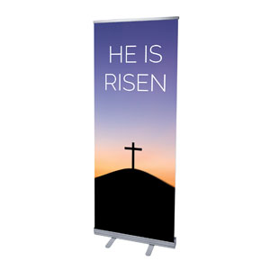 He Is Risen Sunrise Banners