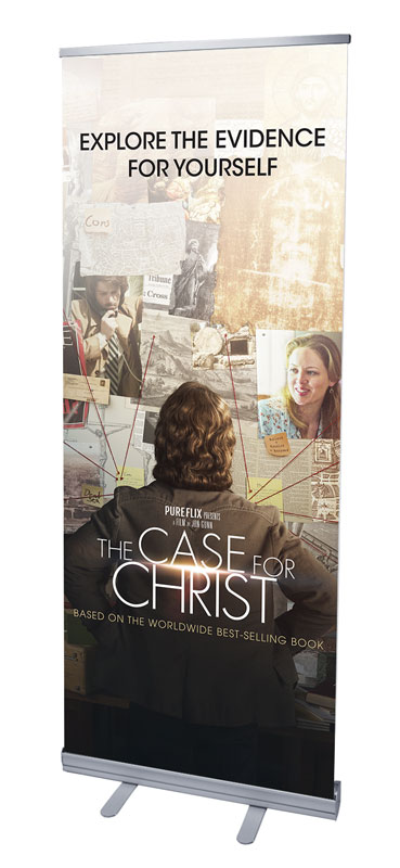 Banners, Case for Christ, The Case for Christ Movie, 2'7 x 6'7