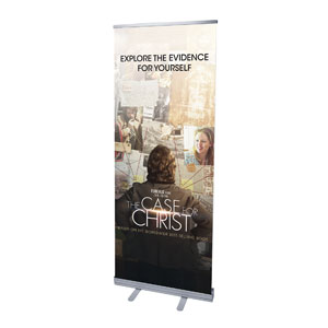 "The Case for Christ Movie 2'7"" x 6'7""  Vinyl Banner"