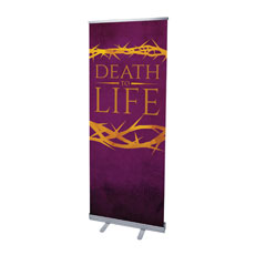 Death to Life Purple Banner