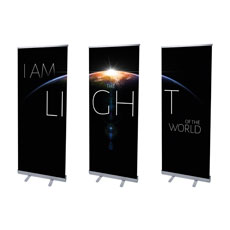 I Am The Light Banner