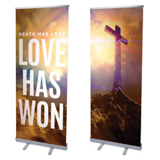 Love Has Won Pair Banner