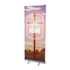 Rejoice He Is Alive Banner