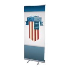 Celebrate America Flag Banner