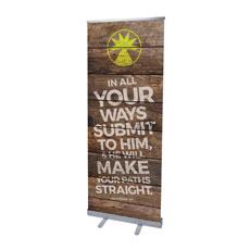 Shiplap Proverbs 3:6 Natural Banner