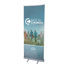 Back to Church Sunday People Banner