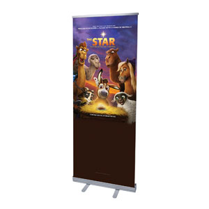 "The Star Movie Advent Series for Kids 2'7"" x 6'7""  Vinyl Banner"