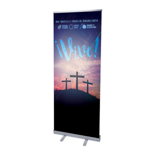 "Come Alive Easter Journey Spanish 2'7"" x 6'7""  Vinyl Banner"