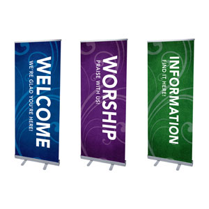 Flourish Core Set Banners