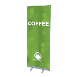 CityReach Blurred Green Coffee Banners