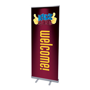 "Marquee Welcome 2'7"" x 6'7""  Vinyl Banner"