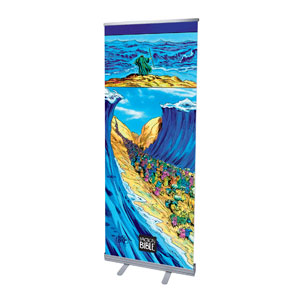 The Action Bible Red Sea Parting Banners