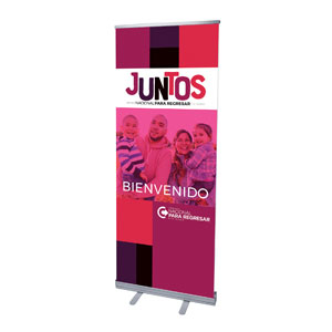 "BTCS Together Spanish 2'7"" x 6'7""  Vinyl Banner"