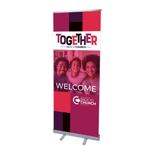 "BTCS Together AFA 2'7"" x 6'7""  Vinyl Banner"