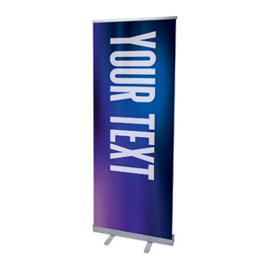 "Aurora Lights Your Text Here 2'7"" x 6'7""  Vinyl Banner"