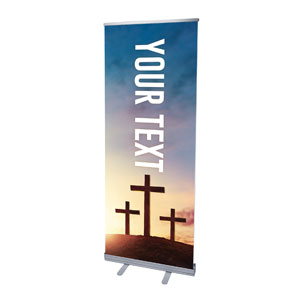 "Easter Hope Outline Your Text 2'7"" x 6'7""  Vinyl Banner"