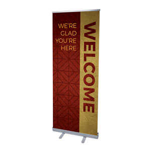 "Celebrate The Season Advent Welcome 2'7"" x 6'7""  Vinyl Banner"
