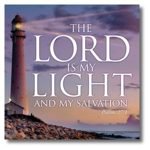 Lord Is My Light StickUp
