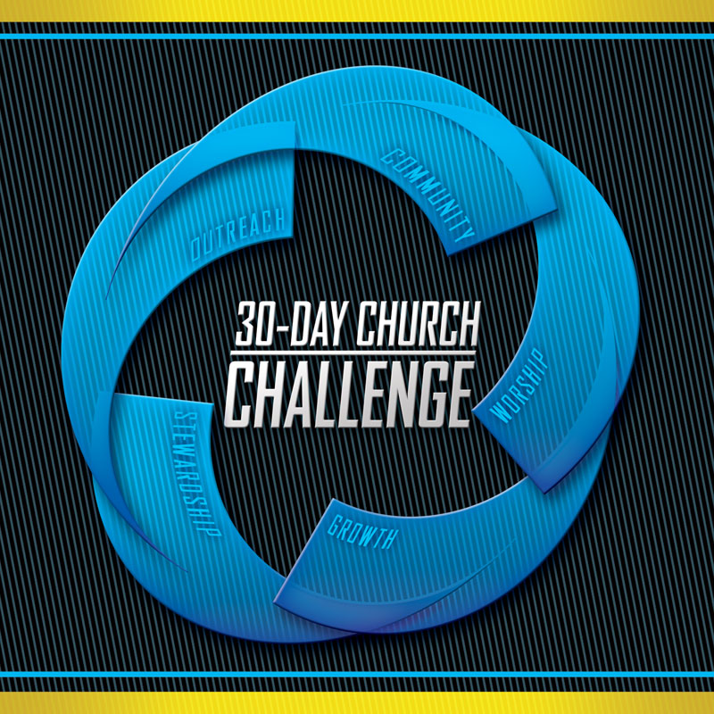 30 Day Church Challenge Banner Church Banners Outreach