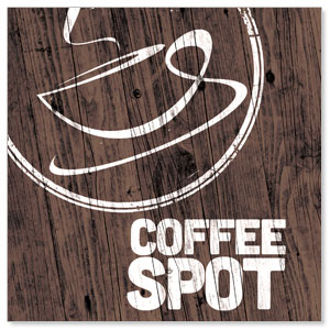 Coffee Spot StickUp