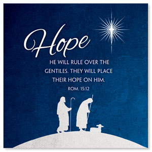Advent Hope StickUp