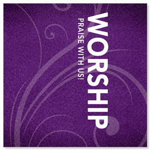 Flourish Worship Banners