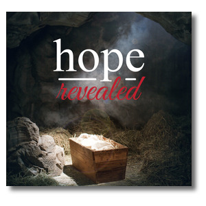 Hope Revealed Manger StickUp