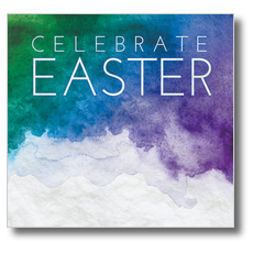 Celebrate Watercolor Easter Banner