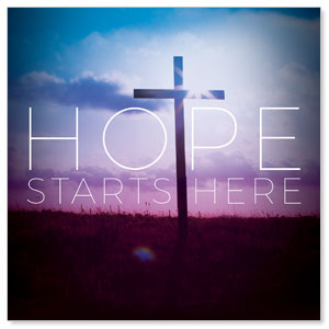 Hope Starts Here Banners