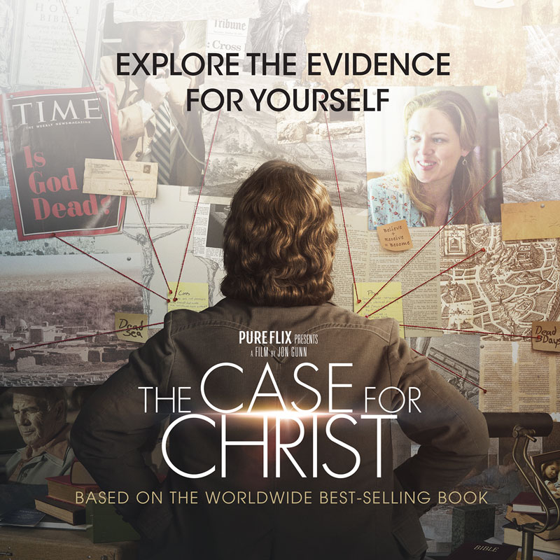 Banners, Case for Christ, The Case for Christ Movie, 3' x 3'