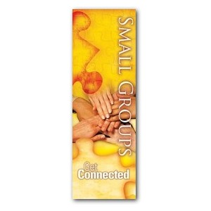 Get Connected Small Groups Banners
