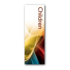 Swirls Children Banner