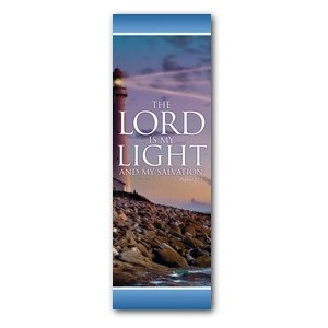 Lord Is My Light 2' x 6' Banner