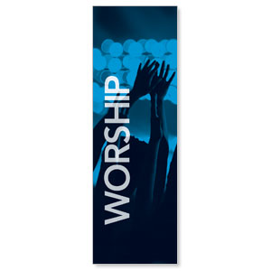 Worship Together Pair Left Banners