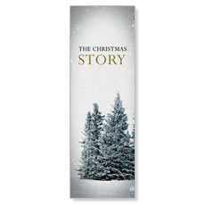 Christmas Story Trees Banner