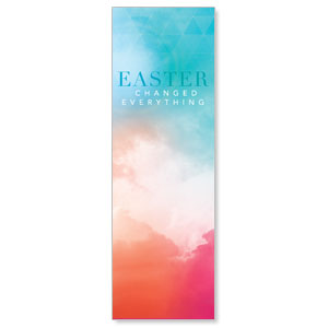 Easter Color 2' x 6' Banner