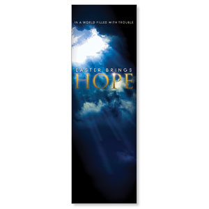 Hope Breaks Through 2' x 6' Banner