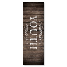 Rustic Charm Youth Banner
