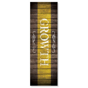Rustic Charm Growth Banners