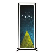Majesty Triptych L Banner